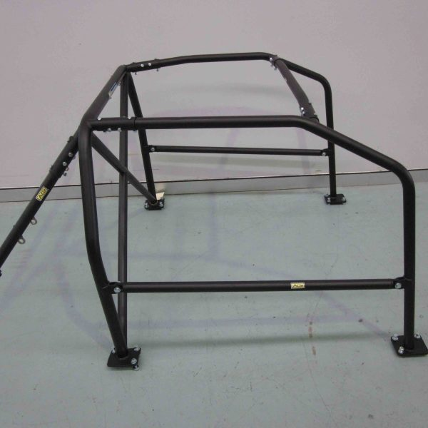 AGI - Nissan 180SX - 2016 CAMS spec State level Bolt-in Roll cage - Option C (floor pic - side)