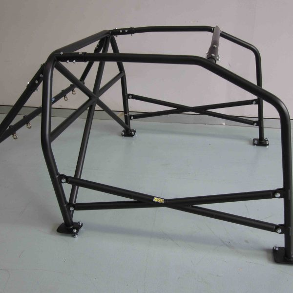 AGI - Nissan 180SX - 2017 CAMS spec State level Bolt-in Roll cage + Double door bars - Option D (floor pic - side)