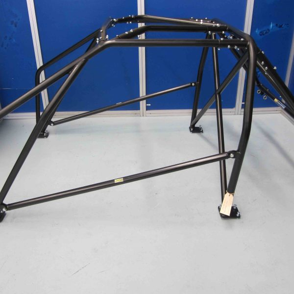 AGI - Nissan Bluebird 910 - 2016 CAMS spec National level Bolt-in Roll cage - Option E (floor pic - side)