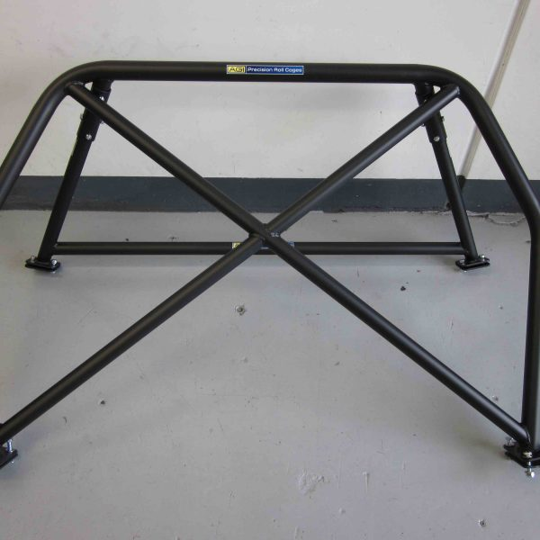 Nissan Silvia S13 - Bolt-in 4pt with double diagonal (front view)