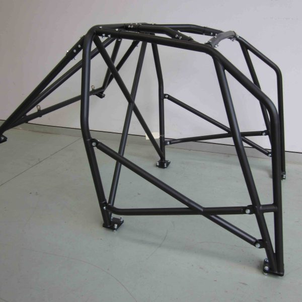 AGI - BMW E30 2dr - 2016 CAMS spec National level Bolt-in Roll cage - Option F (floor pic - side)