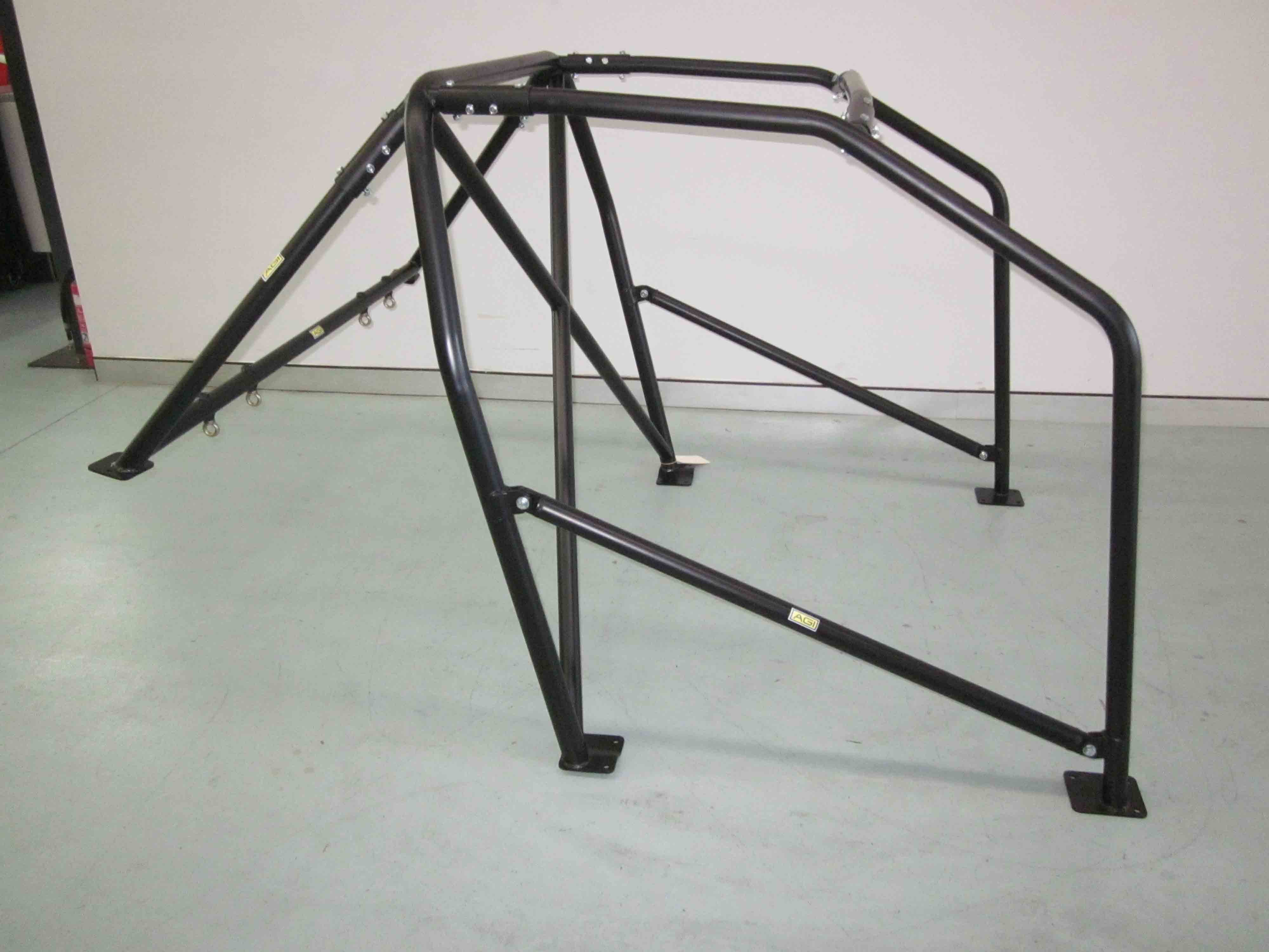 AGI - BMW E36 2dr - 2016 CAMS spec Bolt-in State level Roll cage - Option C (floor pic- side)