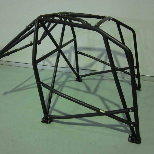 AGI - Subaru WRX GD - 2017 CAMS spec National level Bolt-in Roll cage + double door bars - Option F (floor pic - side)