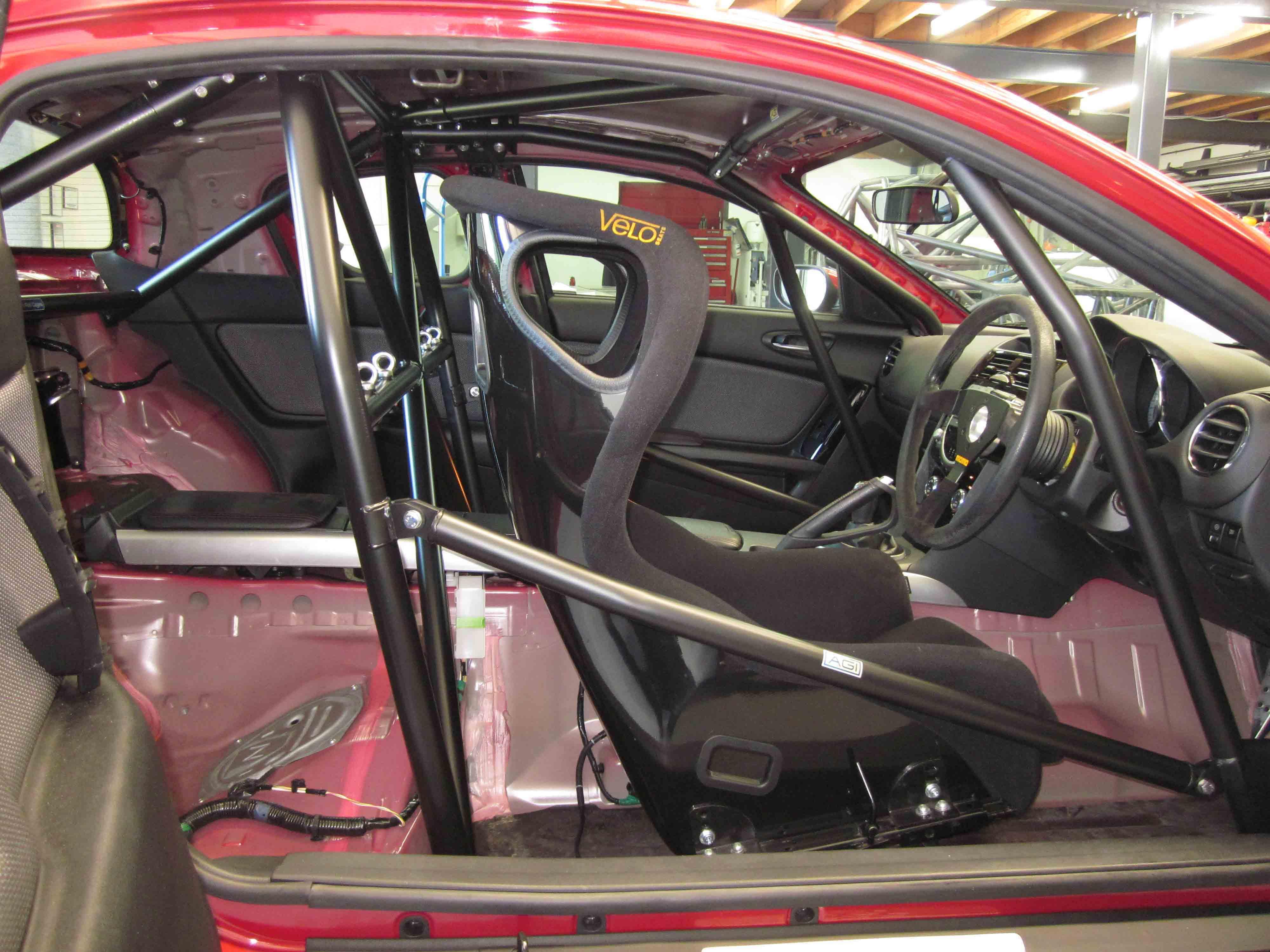 AGI   Mazda RX8   2014 CAMS Spec Bolt In Roll Cage   Option E