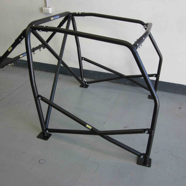 Mini (classic) - CAMS spec Bolt-in Roll Cage - option D (pic #2)