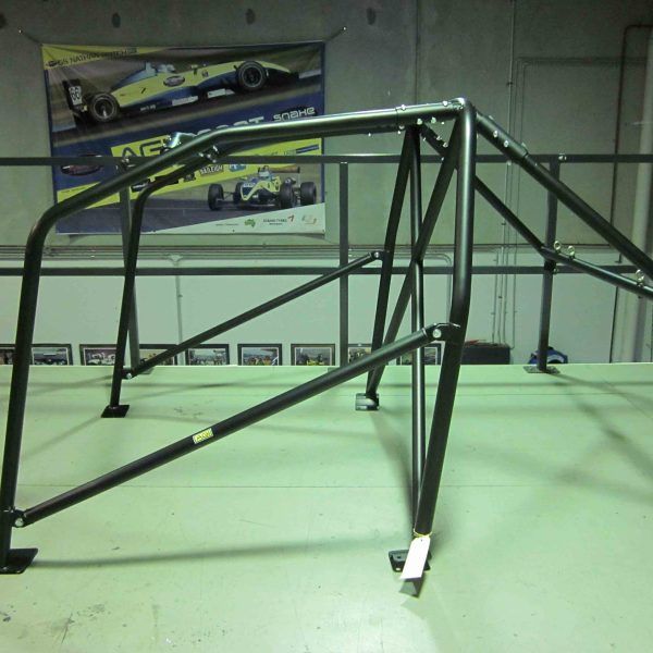 AGI - Nissan Bluebird U13 - 2015 CAMS spec State level Bolt-in Roll cage - Option C (floor pic - side)