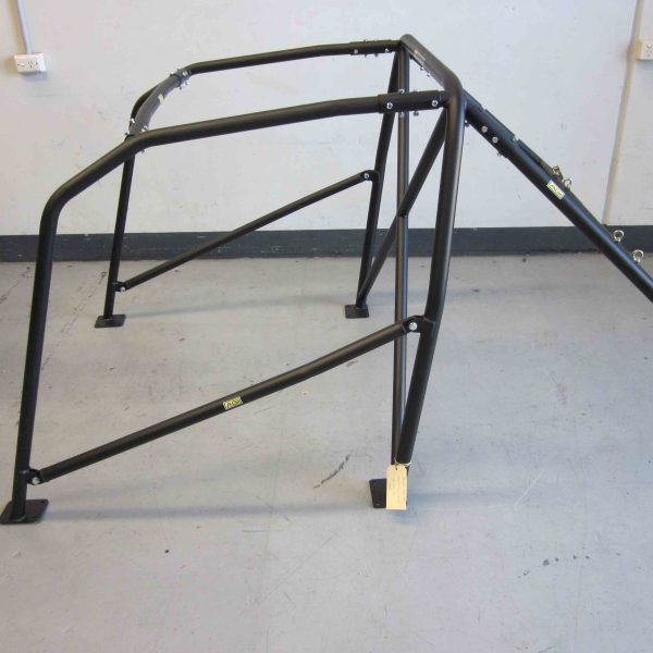 AGI - Peugeot 306 5dr Hatch - 2015 CAMS State level Bolt-in Roll cage (floor pic - side) - Option C