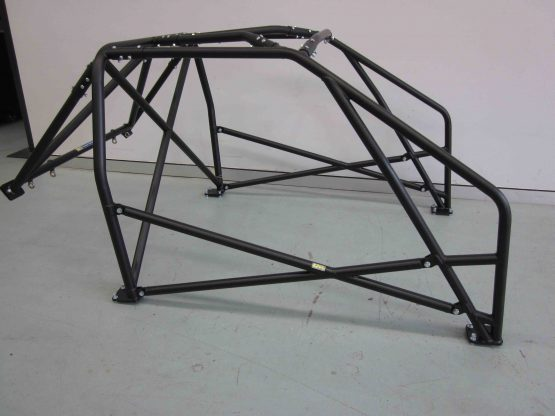 AGI - Nissan Bluebird 910 - 2016 CAMS spec National level Bolt-in Roll cage - Option F (floor pic - side)