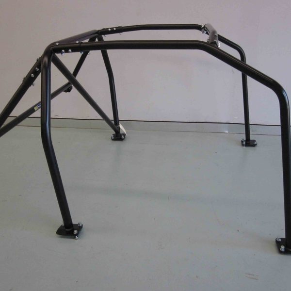 AGI - Nissan Silvia S13 - 2017 CAMS spec Basic 6pt Bolt-in Roll cage - Option B (floor pic - side)