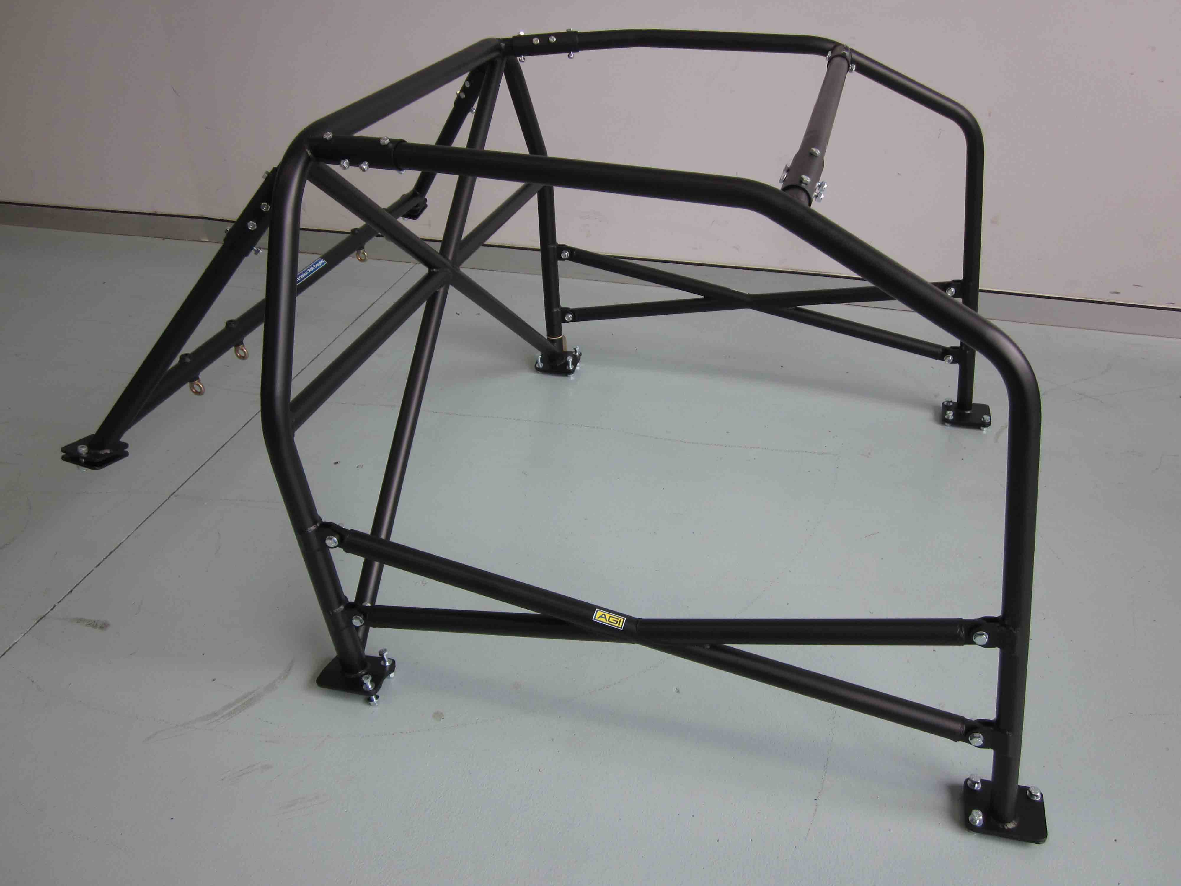 (D) Nissan Silvia S13 - 2 door - Full Cage (6 point) Bolt-in