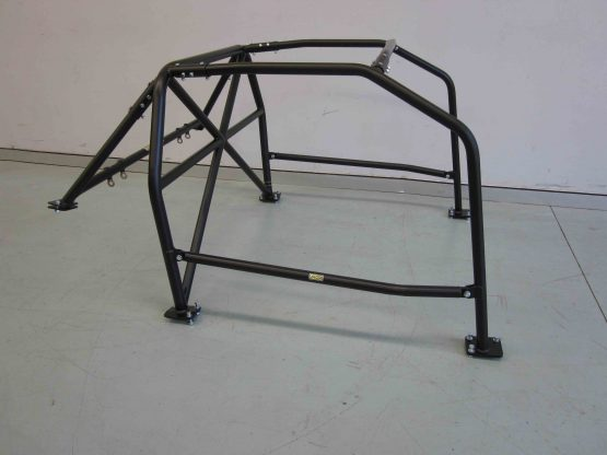 AGI - Nissan Silvia S13 - 2018 CAMS spec State level Bolt-in Roll Cage - Option C