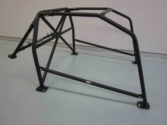 AGI - Nissan Silvia S14 - 2017 CAMS spec State level Bolt-in Roll cage - Option C (floor pic - side)