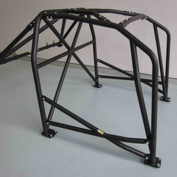 AGI - Nissan Skyline R32 - 2017 CAMS spec National level Bolt-in Roll cage + Double door bars - Option F (floor pic - side)