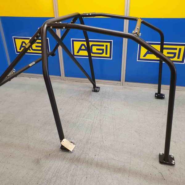 AGI - Nissan Skyline R32 - 2020 CAMS spec Basic 6pt Bolt-in Roll Cage - Option B.