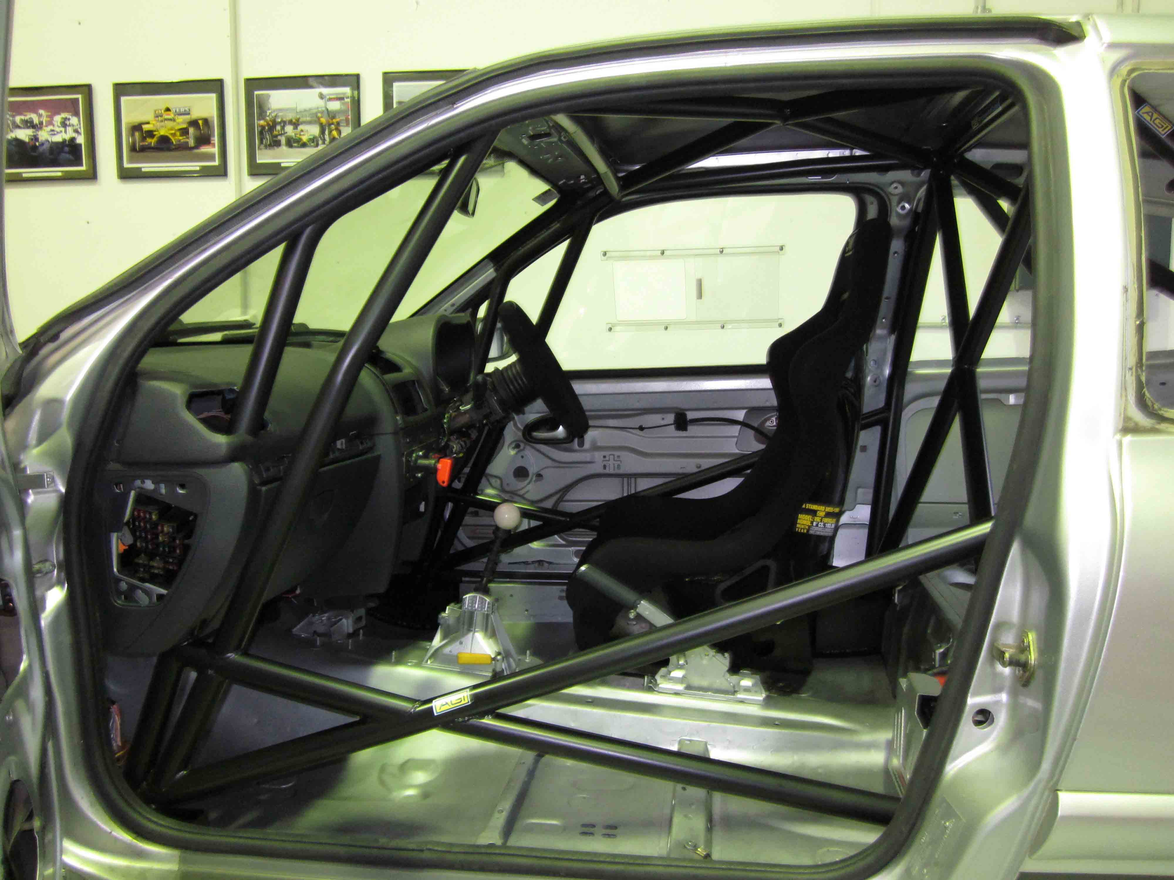 Renault Clio Ii Cams Weld In Roll Cage Agi Roll Cages
