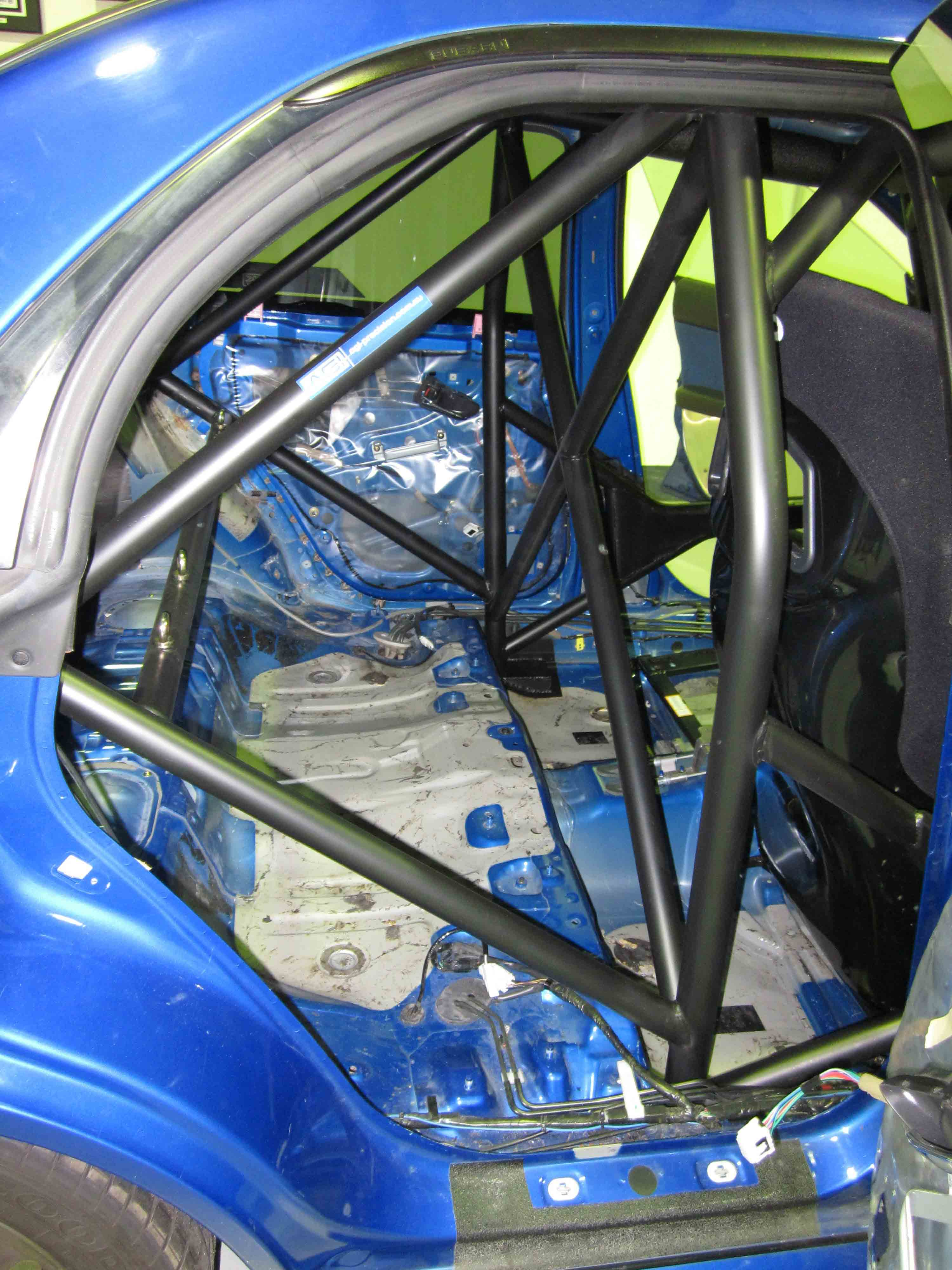 Subaru Wrx Gd Cams Weld In Roll Cage Agi Roll Cages
