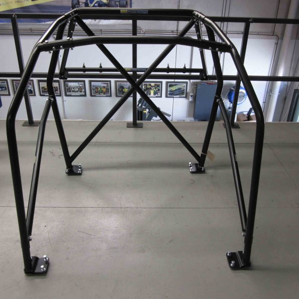 AGI - BMW E30 2dr - 2015 CAMS spec Bolt-in State level Roll cage (floor pic - front)