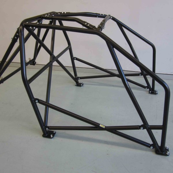 AGI - Honda Civic EG - 2017 CAMS spec National level Bolt-in Roll cage - Option F (floor pic - side)