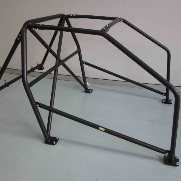 AGI - Honda Civic EG - 2017 CAMS spec State level Bolt-in Roll cage - Option C (floor pic - side)
