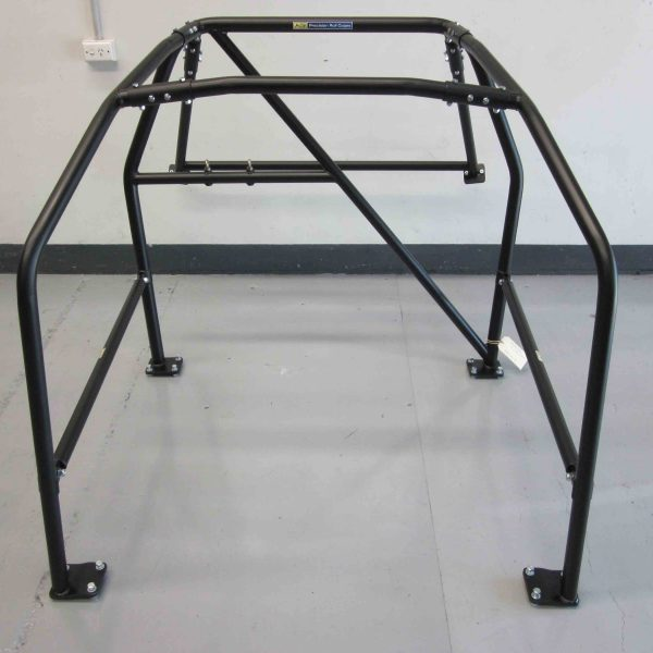 AGI - Hyundai Excel 3dr - 2014 CAMS Excel Cup spec Bolt-in Roll cage (floor pic - front)
