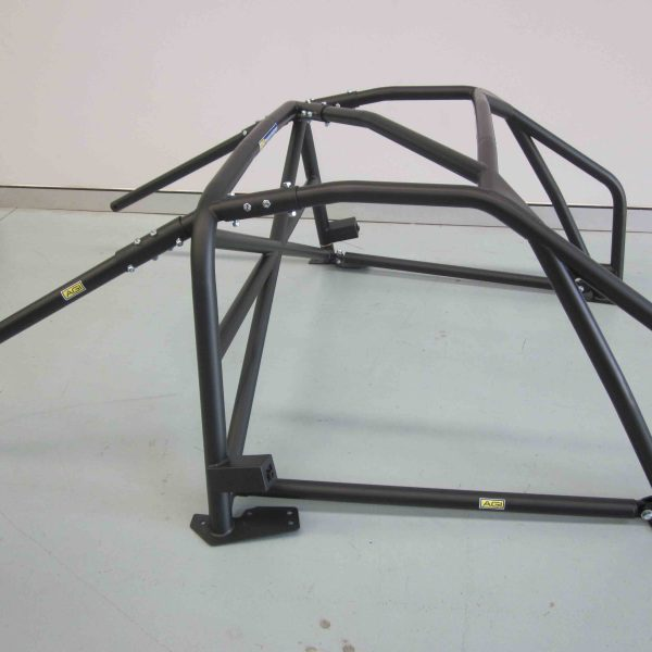 AGI - Lotus Exige V6 - 2016 CAMS National spec Bolt-in Roll cage with single roof diagonal (floor pic - side)