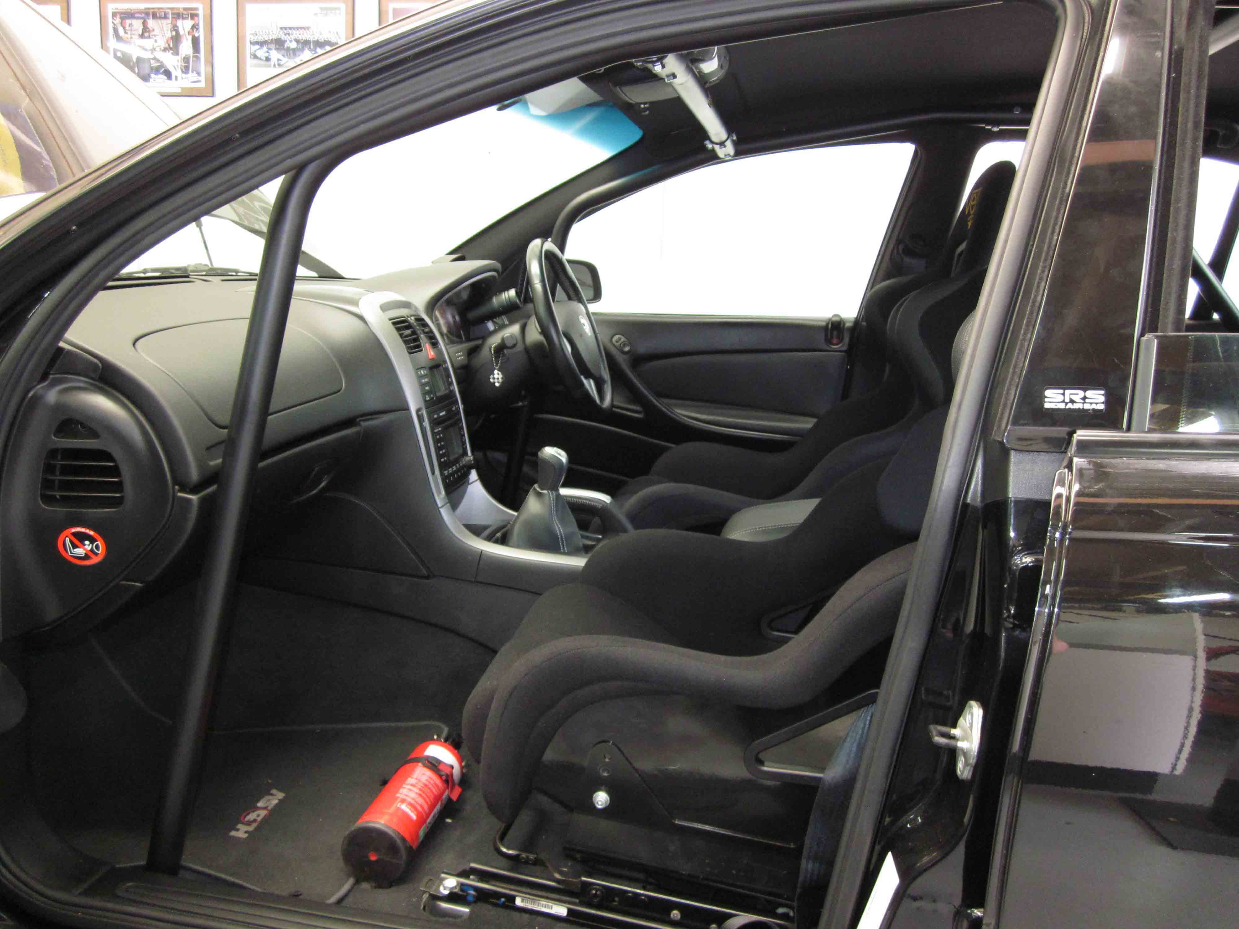 Race Car Roll Cage Side View
