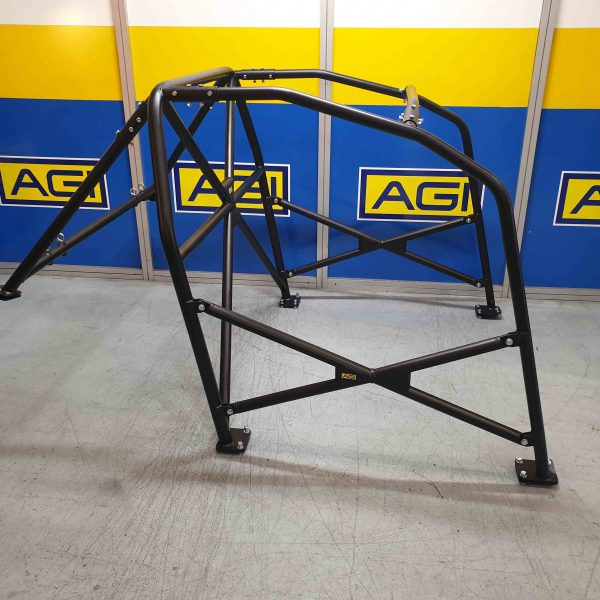 AGI - BMW E46 2dr - 2020 CAMS spec State level Bolt-in Roll Cage + double door bars - Option D
