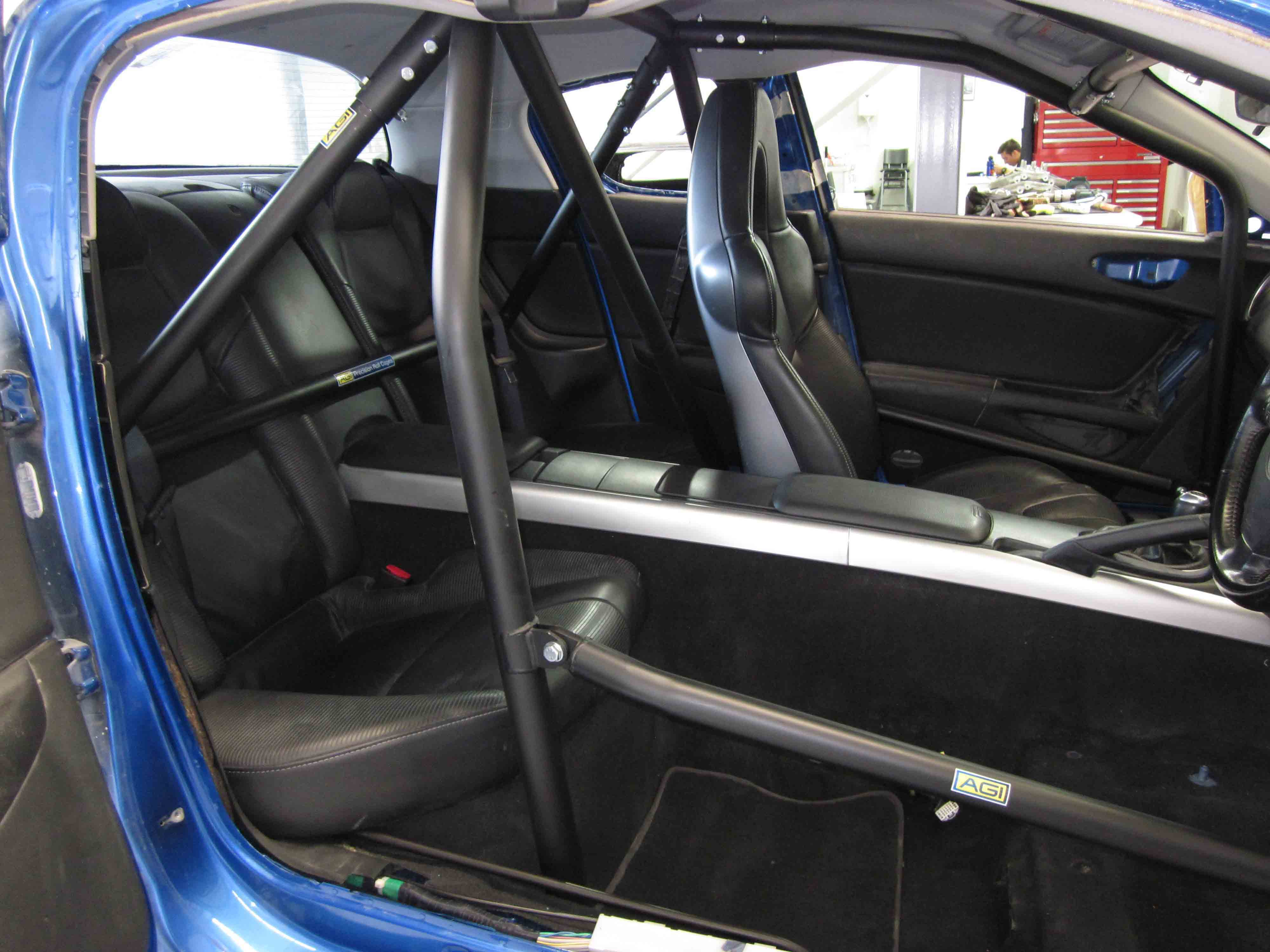 Agi Mazda Rx Cams Spec Bolt In Roll Cage Option C D