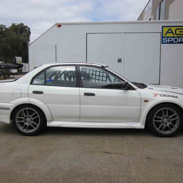 AGI - Mitsubishi Evo 6 - 2015 CAMS National level Weld-in Roll cage (car pic)