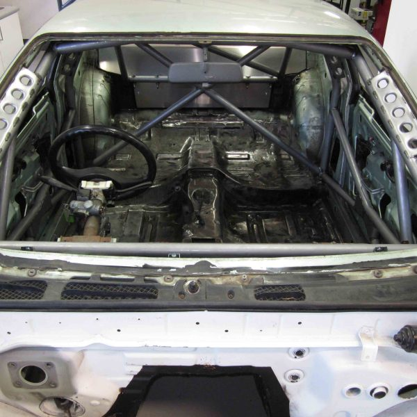 AGI - Nissan Silvia S13 - 2013 CAMS Weld-in National level Roll Cage - Option H (pic #1)