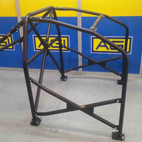 AGI - Subaru WRX GC8 - 2020 CAMS spec National level Bolt-in Roll Cage - Option F