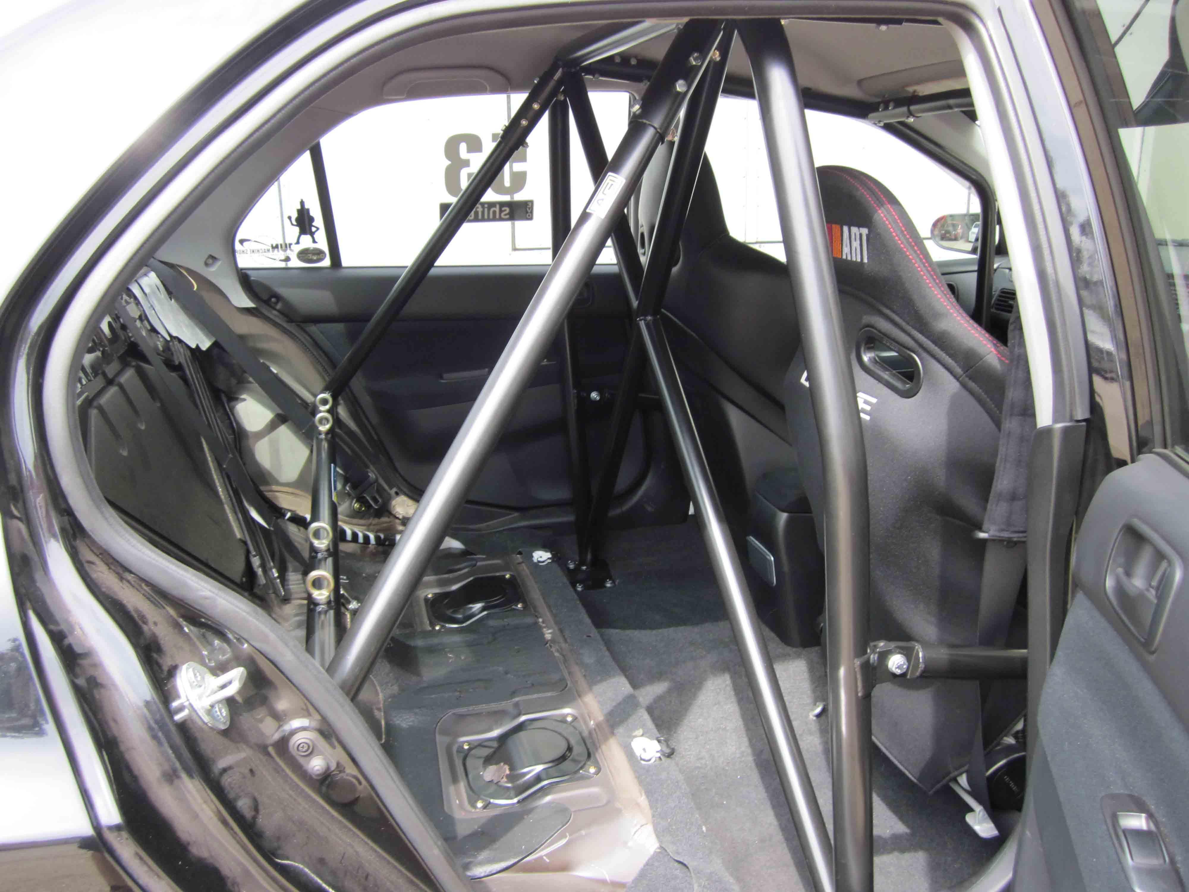C Mitsubishi Evo 7 9 6pt Full Cage Bolt In Agi