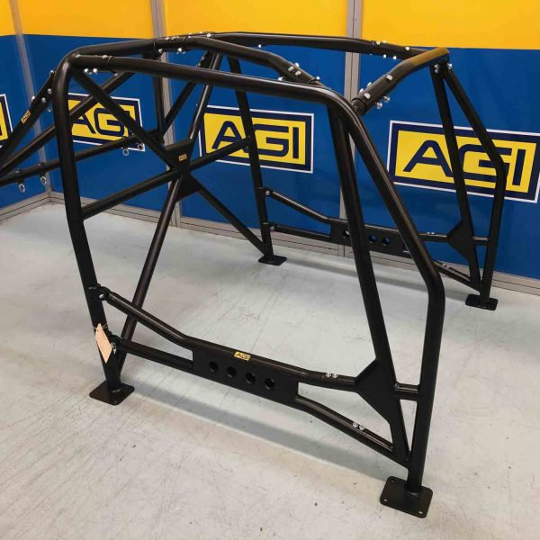 AGI - Mini (BMC) - 2020 CAMS spec National level Bolt-in Roll Cage - Option F.