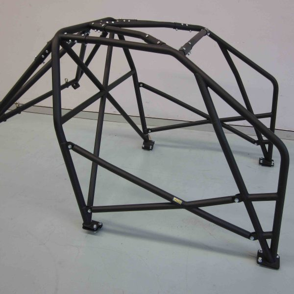 AGI - Nissan Pulsar N14 - 2017 CAMS spec National level Bolt-in Roll cage - Option F (floor pic - side)