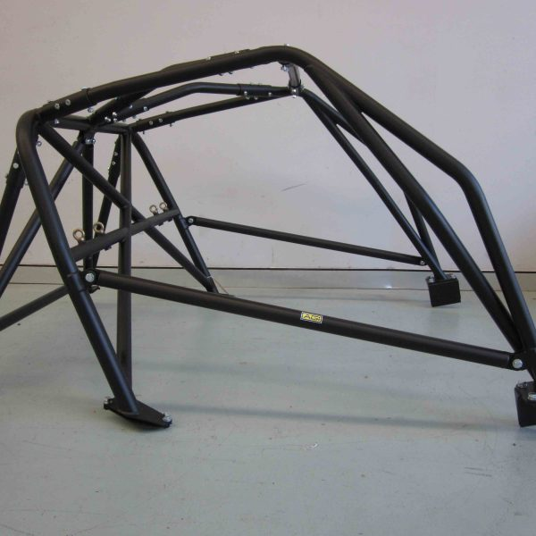 AGI - Porsche 911 - 2017 CAMS National level Bolt-in Roll cage - Option E (floor pic - side)