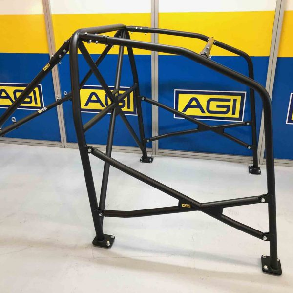 AGI - Mazda 3 - 2020 MA spec State level Bolt-in Roll cage + Double door bars - Option D