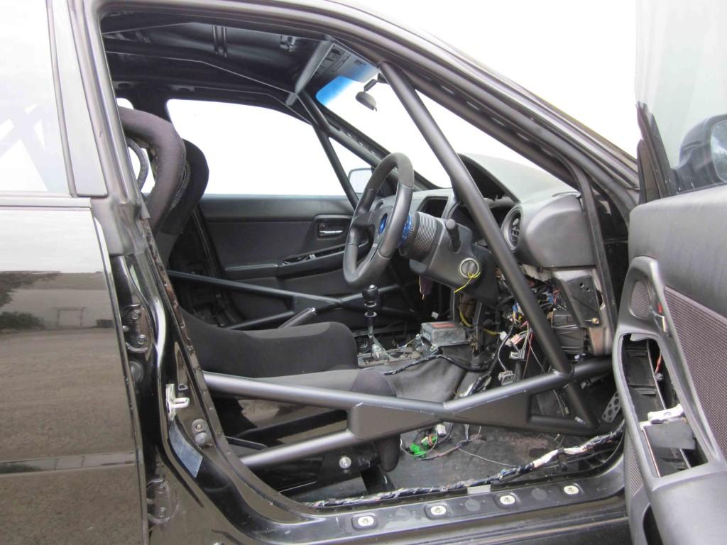 F Subaru Wrx Gd Full Cage 6 Point Weld In Agi