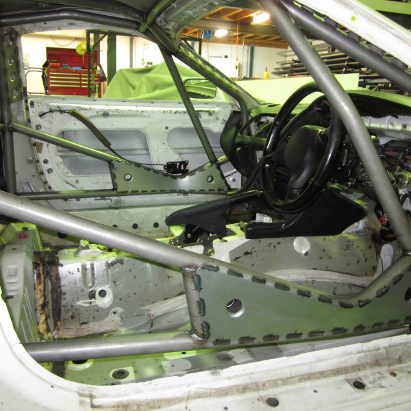 AGI - Toyota Supra Mk4 - 2013 National level weld-in - Option I (pic thru RH door) - Copy