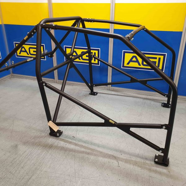 AGI-Mercedes-190E-2020-CAMS-spec-State-level-Bolt-in-Roll-Cage-Option-D