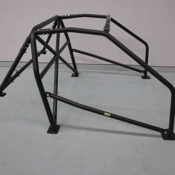 AGI - Mazda RX7 FB - 2017 CAMS spec State level Bolt-in Roll cage - Option C (floor pic - side)